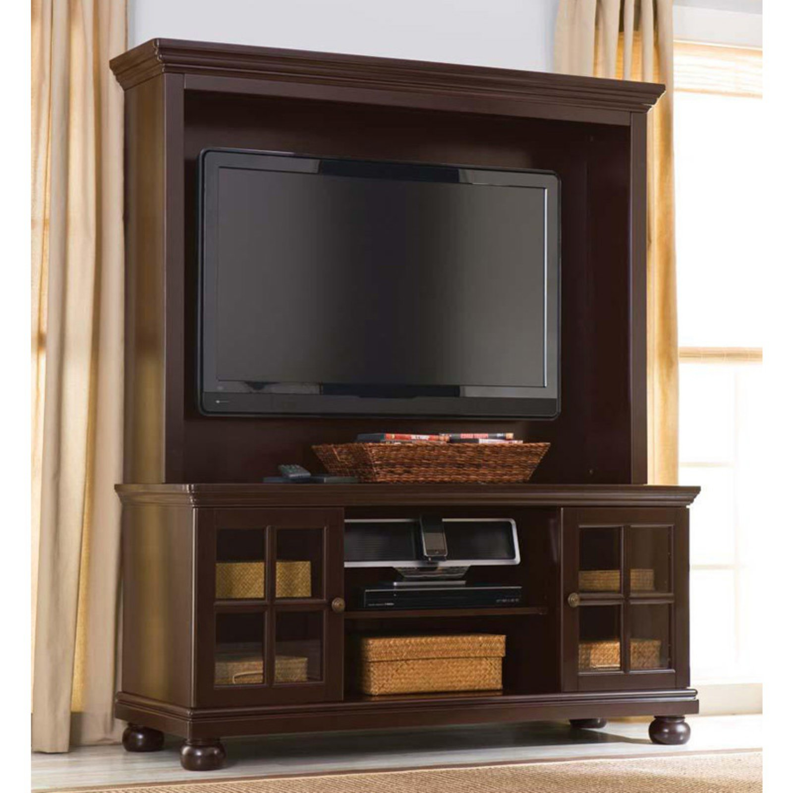 """Tv Stands For Tvs Up To 50"""" Intended For Most Popular Better Home And Gardens 50"""" Flat Screen Tv Stand With (View 5 of 25)"""