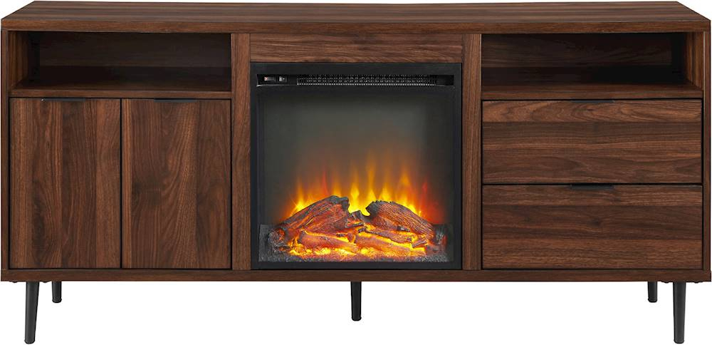 Tv Stands With Built In Electric Fireplace – Fireplace Ideas With Regard To Most Recently Released Twin Star Home Terryville Barn Door Tv Stands (View 9 of 10)