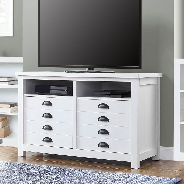 """Twila Tv Stands For Tvs Up To 55"""" For Most Popular Better Homes & Gardens Granary Modern Farmhouse Tv Stand (View 20 of 25)"""