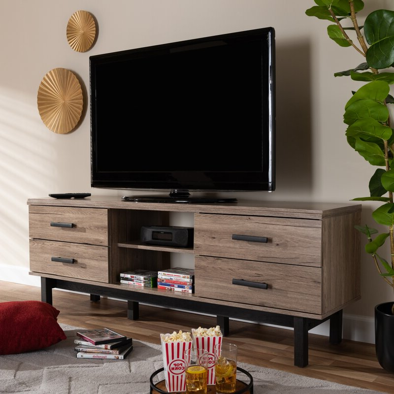 """Union Rustic Whittaker Tv Stand For Tvs Up To 75 Within Most Recently Released Chrissy Tv Stands For Tvs Up To 75"""" (View 12 of 25)"""