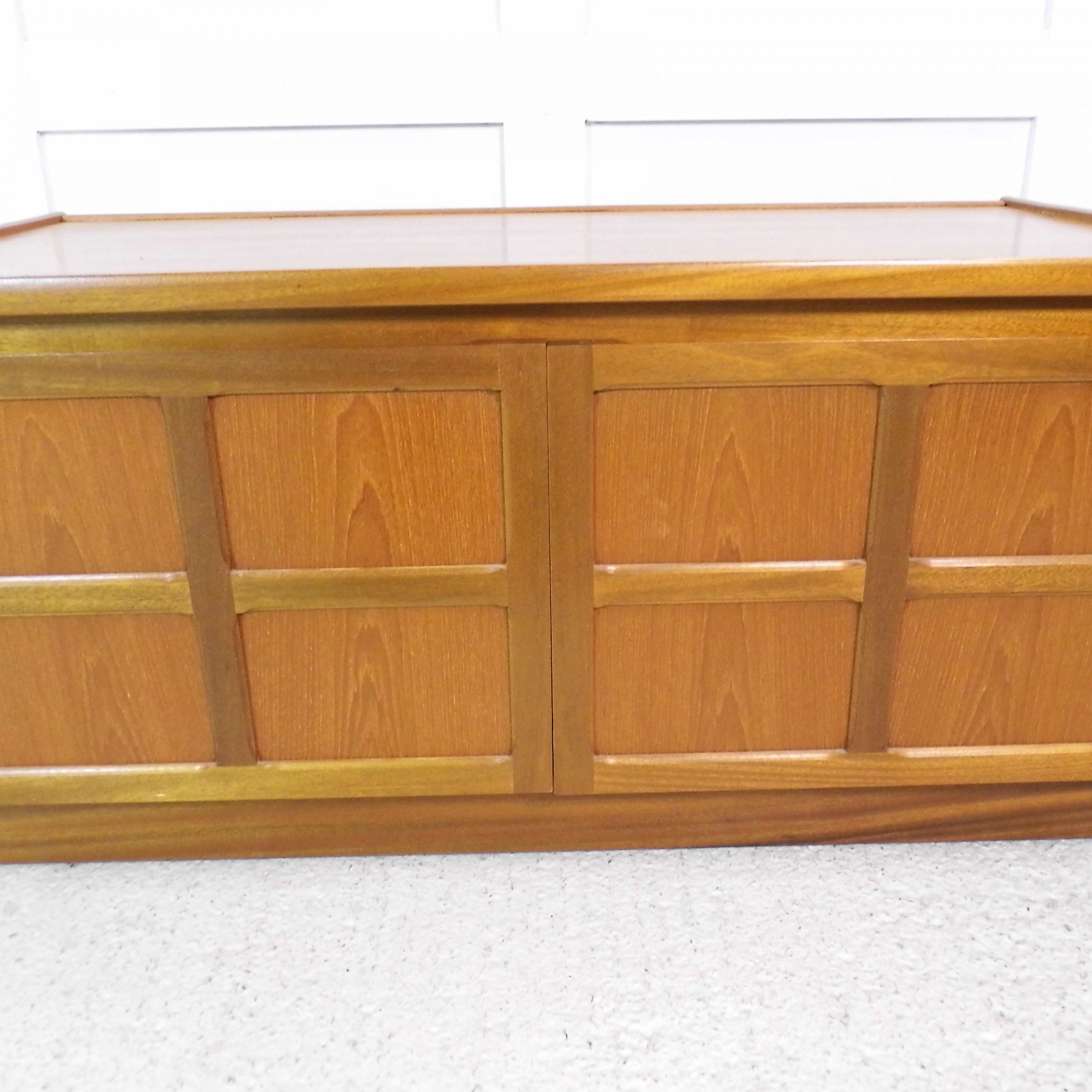 Vintage Retro Teak Nathan Tv Stand Hifi Cabinet 1970s With Regard To Fashionable Owen Retro Tv Unit Stands (View 22 of 25)