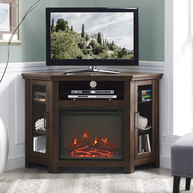 """Virginia Tv Stands For Tvs Up To 50"""" Throughout Widely Used Mistana™ Tieton Corner Tv Stand For Tvs Up To 50"""" With (View 12 of 25)"""