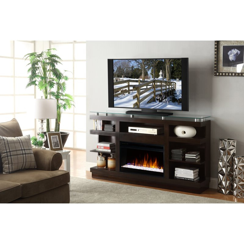 """Wade Logan Emanuel Solid Wood Tv Stand For Tvs Up To 70 With Regard To Most Popular Miconia Solid Wood Tv Stands For Tvs Up To 70"""" (View 23 of 25)"""