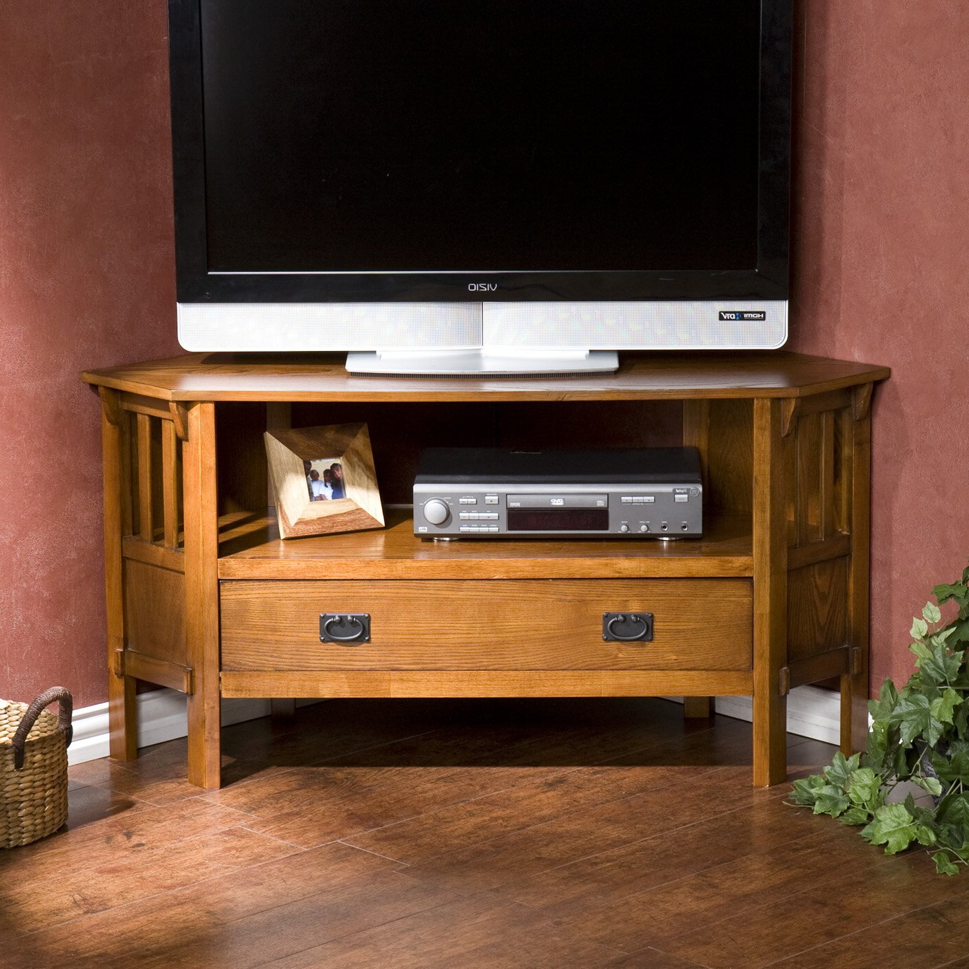 Wayfair Within Most Up To Date Priya Corner Tv Stands (View 5 of 25)
