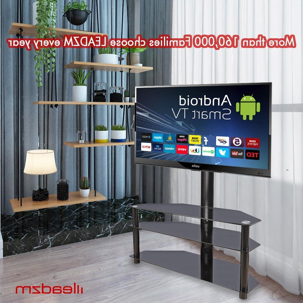 """Well Known 3 In 1 Floor Tv Stand With Swivel Mount For 32 70 Inch Led Intended For Paulina Tv Stands For Tvs Up To 32"""" (View 23 of 25)"""