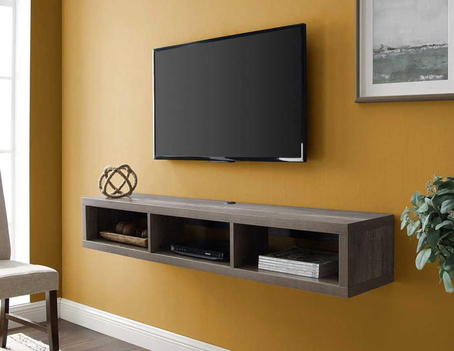 Well Known 60″ Wall Mounted Console – Martin Furniture With Fulton Wide Tv Stands (View 4 of 10)