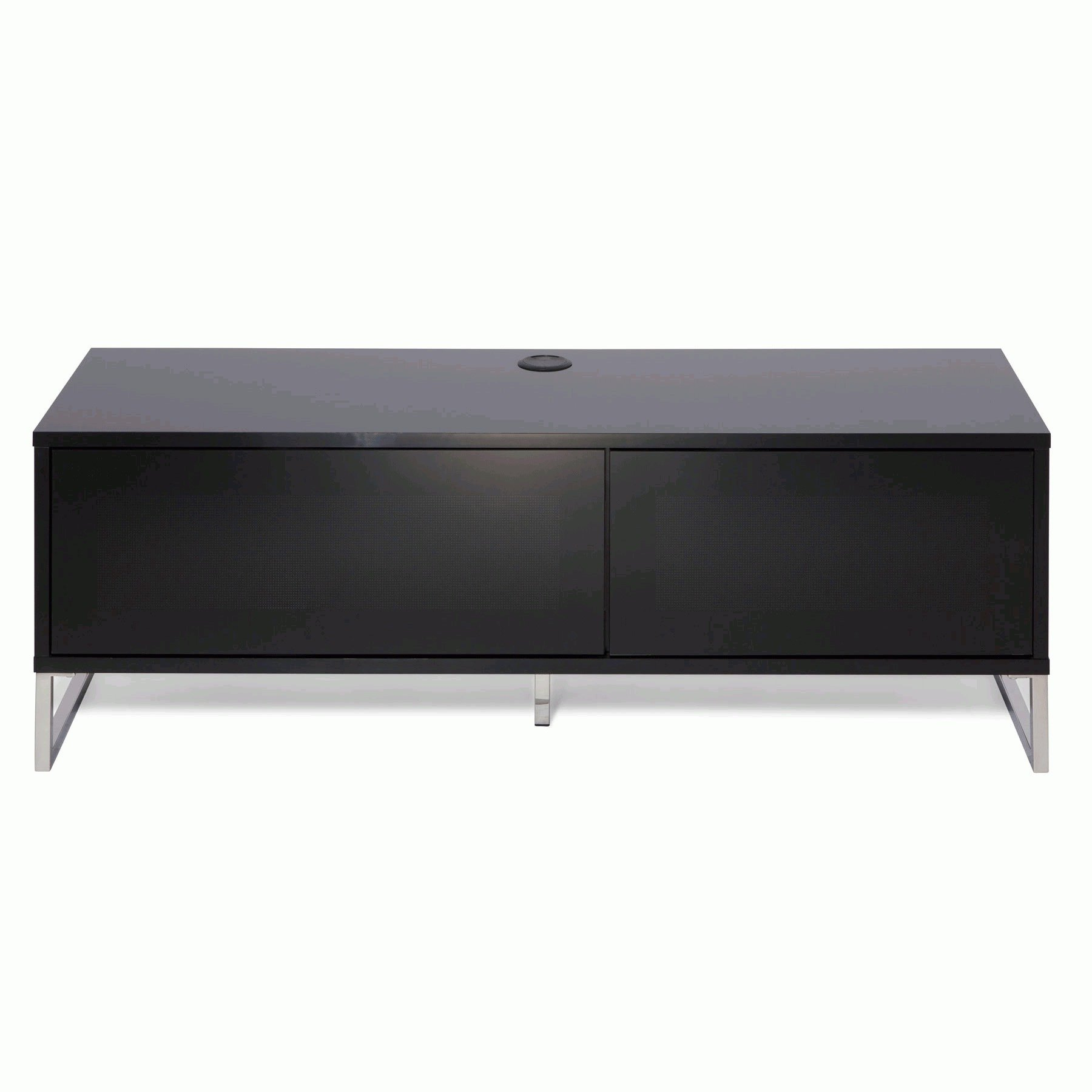 """Well Known Alphason Helium 120cm Black Tv Stand For Up To 50"""" Tvs With Regard To Tv Stands For Tvs Up To 50"""" (View 14 of 25)"""