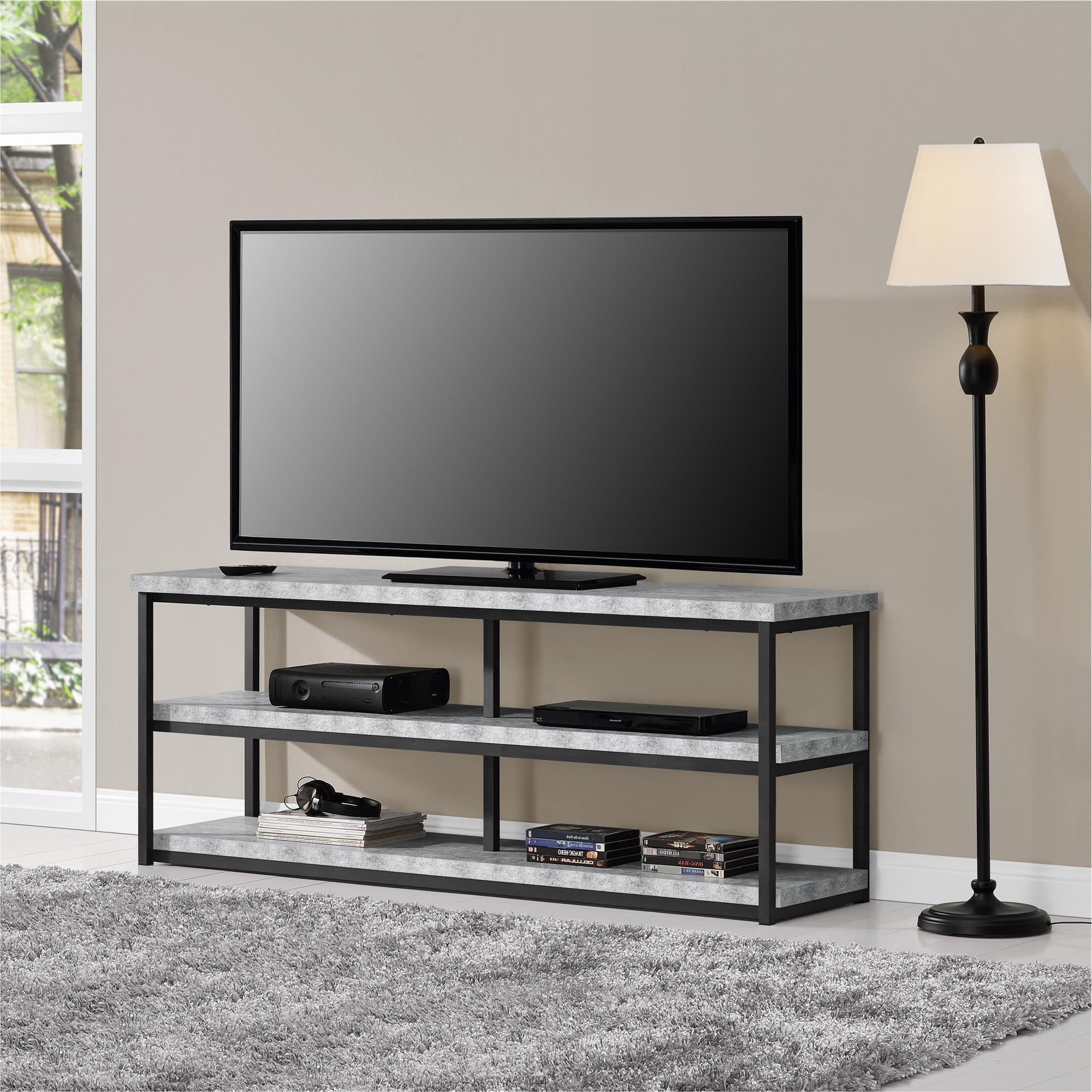 """Well Known Ameriwood Home Ashlar Tv Stand For Tvs Up To 65"""", Multiple Pertaining To Mainstays Tv Stands For Tvs With Multiple Colors (View 1 of 10)"""