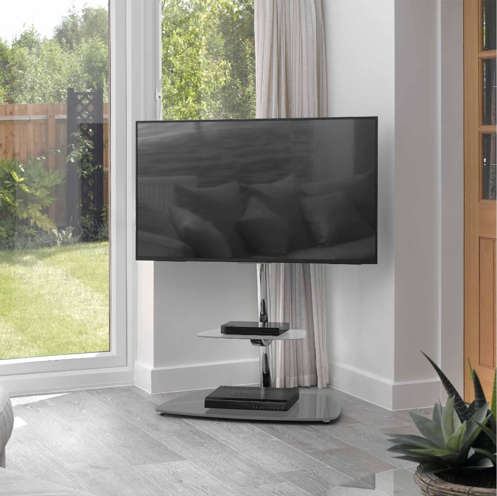 """Well Known Avf Fsl800 Iseo Cantilever Tv Stand For Up To 70 Inch Tvs With Kinsella Tv Stands For Tvs Up To 70"""" (View 16 of 25)"""