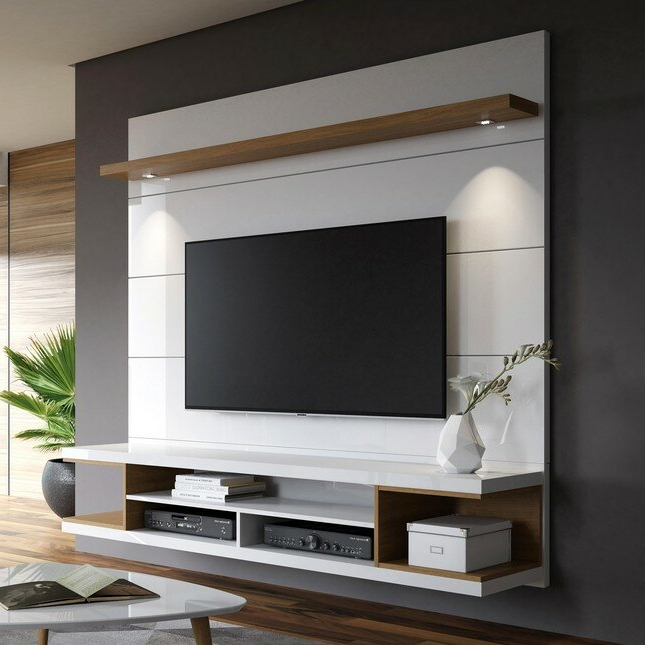 """Well Known George Oliver Lemington Floating Entertainment Center For Regarding Ezlynn Floating Tv Stands For Tvs Up To 75"""" (View 20 of 25)"""