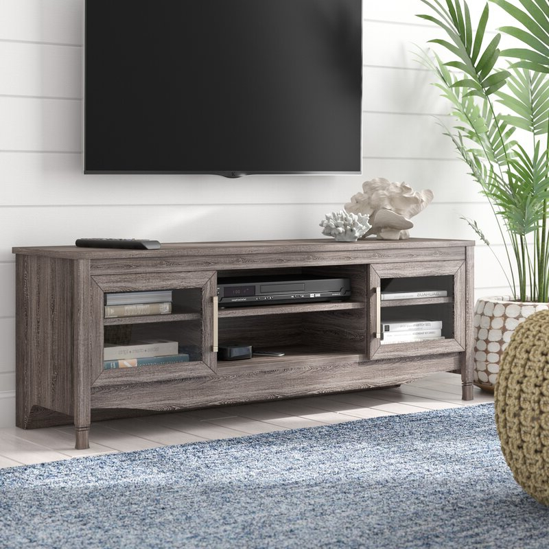 """Well Known Highland Dunes Buxton Tv Stand For Tvs Up To 65"""" & Reviews Intended For Stamford Tv Stands For Tvs Up To 65"""" (View 5 of 25)"""