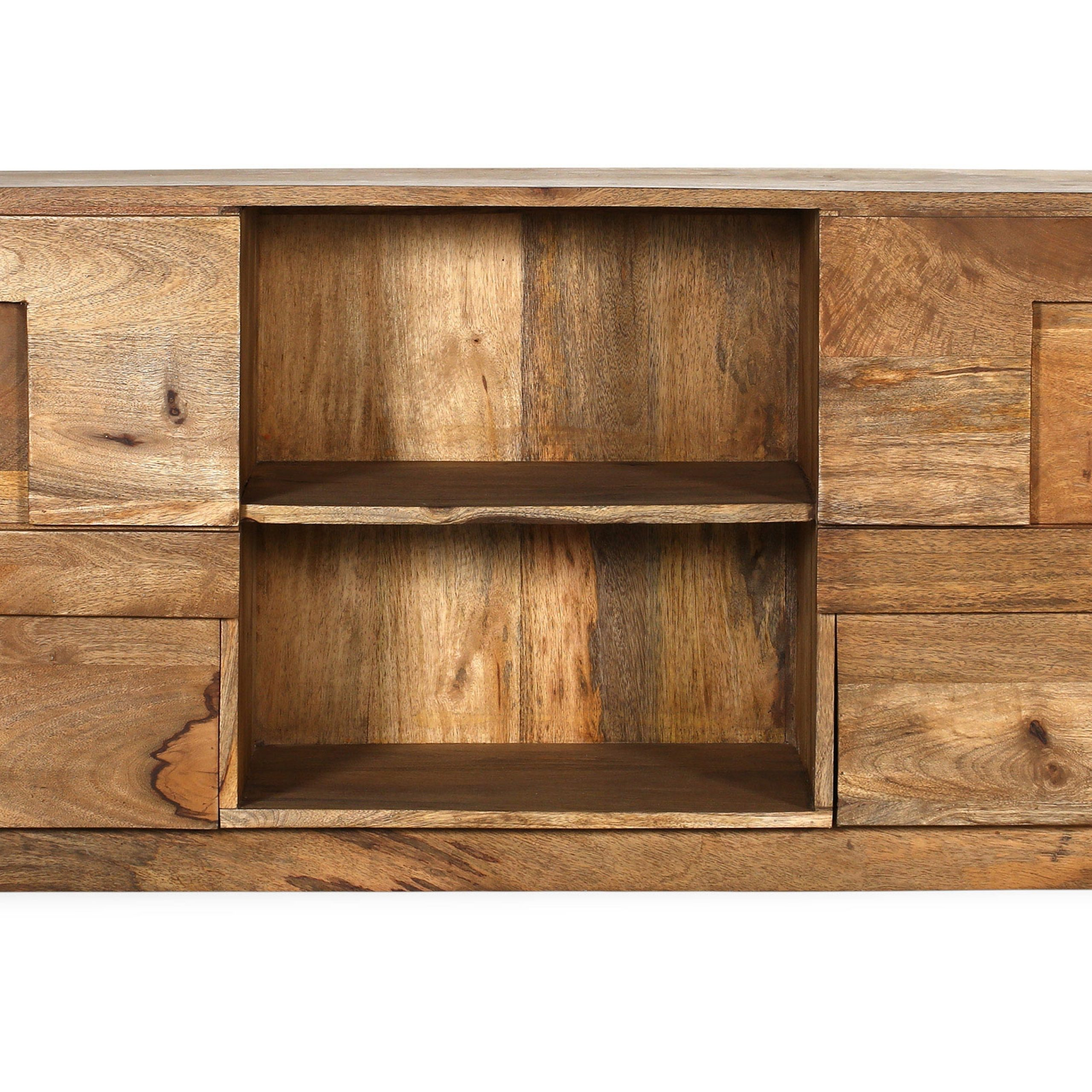 Well Known Jakarta Tv Stands Regarding Buy Mango Tv Furniture – Jakarta Natural Wood 58881 In The (View 3 of 10)