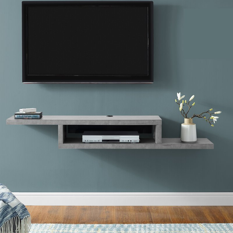 """Well Known Totally Tv Stands For Tvs Up To 65"""" Pertaining To Orren Ellis Sroda Floating Tv Stand For Tvs Up To  (View 22 of 25)"""