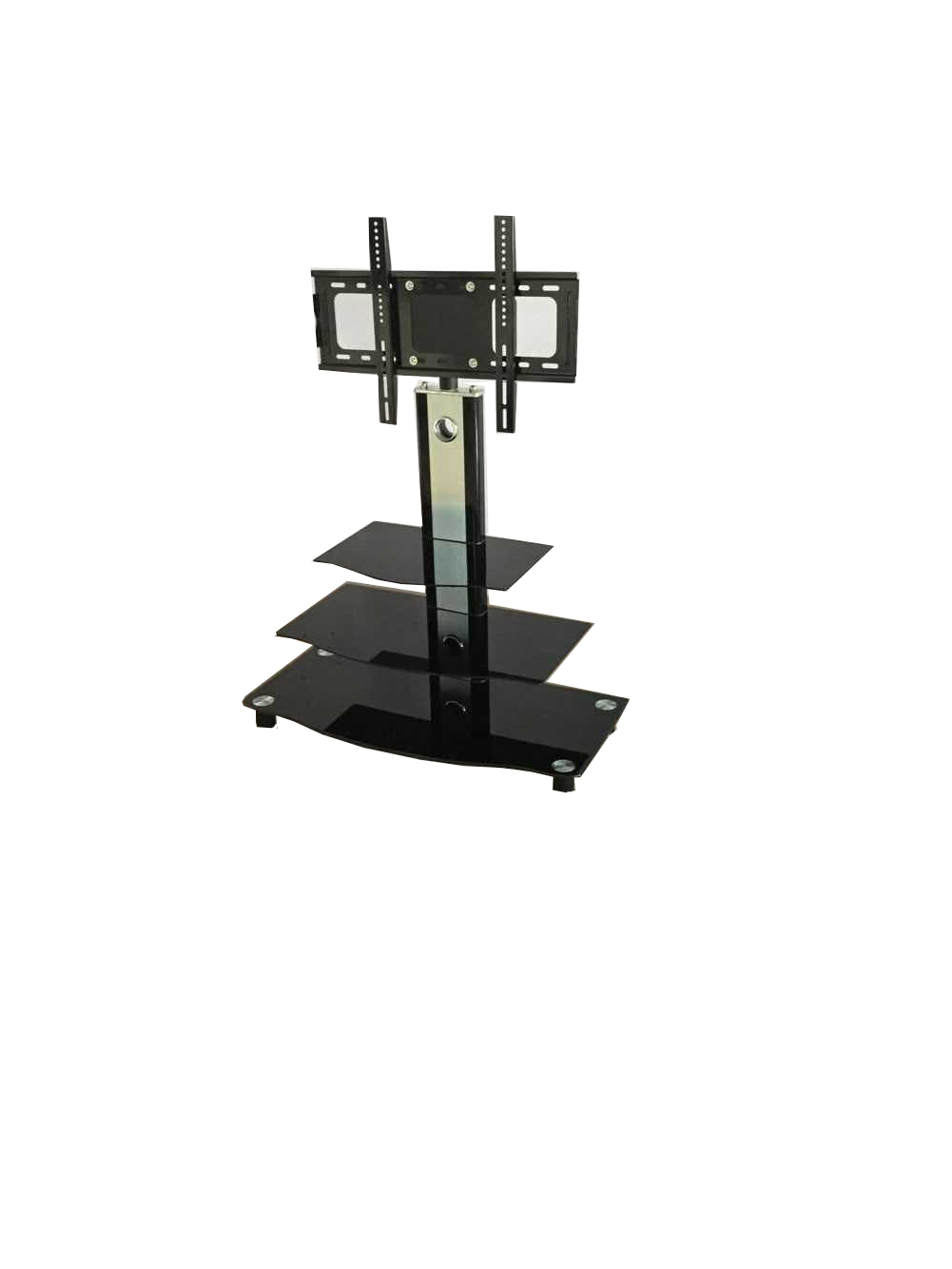 Well Known Tv Unit With Brackets – Tjs Furniture Intended For Modern Mobile Rolling Tv Stands With Metal Shelf Black Finish (View 9 of 10)