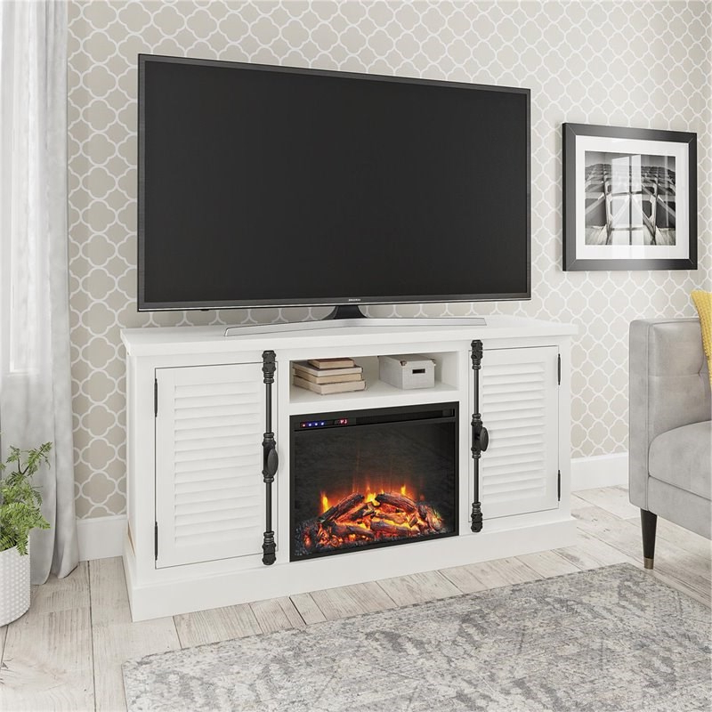 """Well Known Wolla Tv Stands For Tvs Up To 65"""" Inside Ameriwood Home Sienna Park Fireplace Tv Stand Up To 65"""" In (View 20 of 25)"""