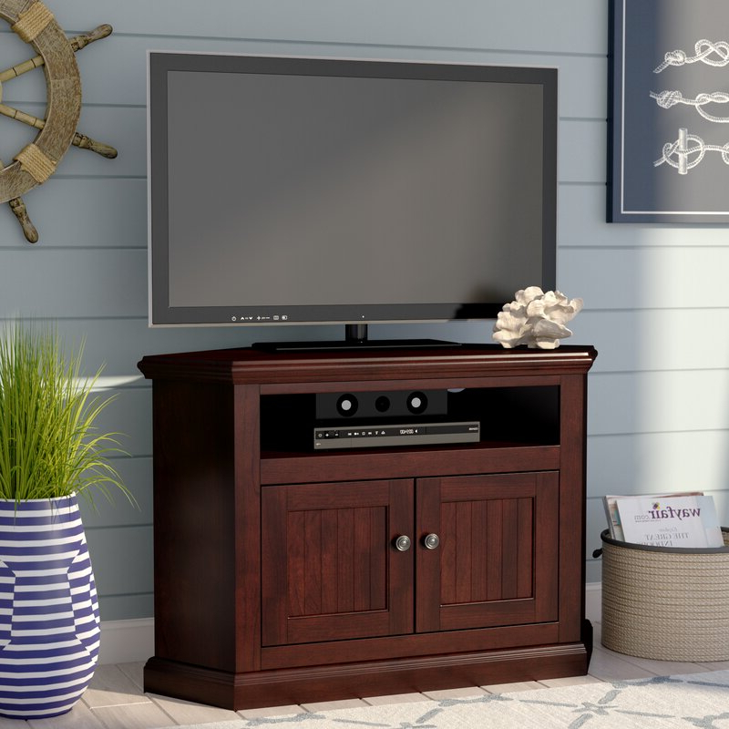 """Well Known World Menagerie Didier Corner Tv Stand For Tvs Up To 43 Inside Maubara Tv Stands For Tvs Up To 43"""" (View 5 of 25)"""
