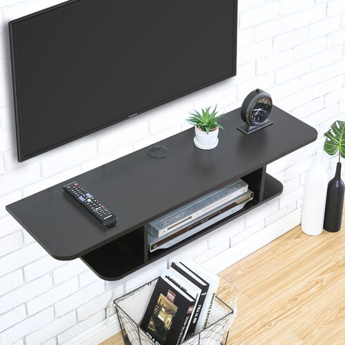"""Well Liked Aaliyah Floating Tv Stands For Tvs Up To 50"""" In Ebern Designs Jaritsa Floating Tv Stand For Tvs Up To  (View 25 of 25)"""