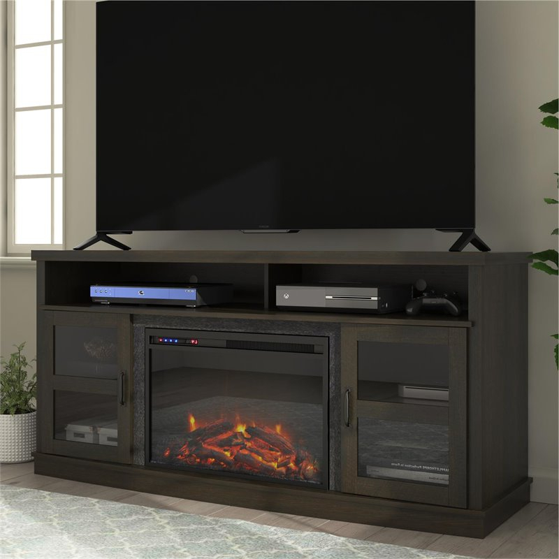 """Well Liked Ameriwood Home Ayden Park Fireplace Tv Stand Up To 65"""" In Intended For Olinda Tv Stands For Tvs Up To 65"""" (View 9 of 25)"""