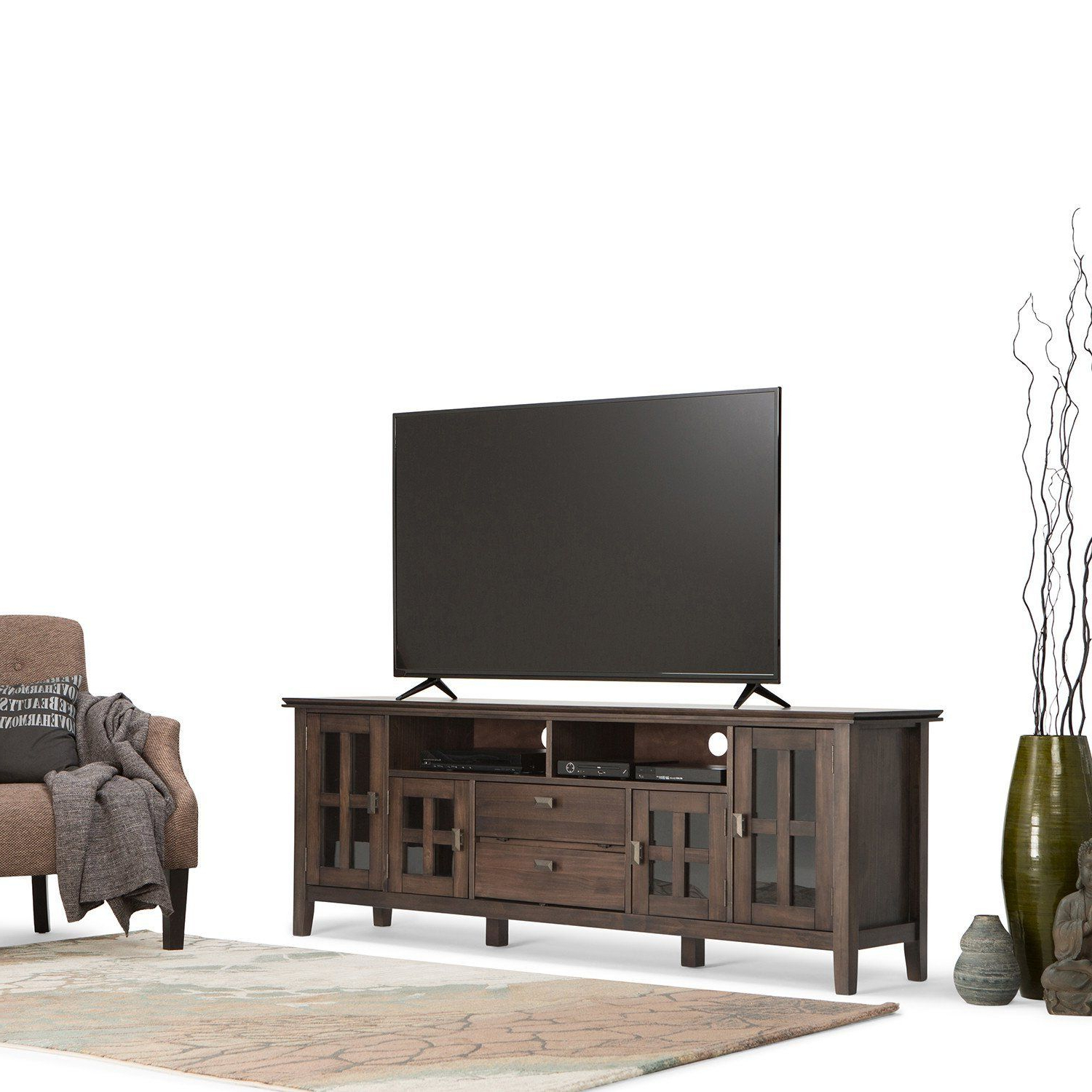 Well Liked Artisan 72 Inch Tv Media Stand (View 5 of 10)