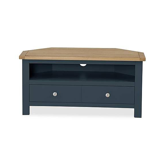 Well Liked Bromley Blue Corner Tv Stand (View 3 of 25)