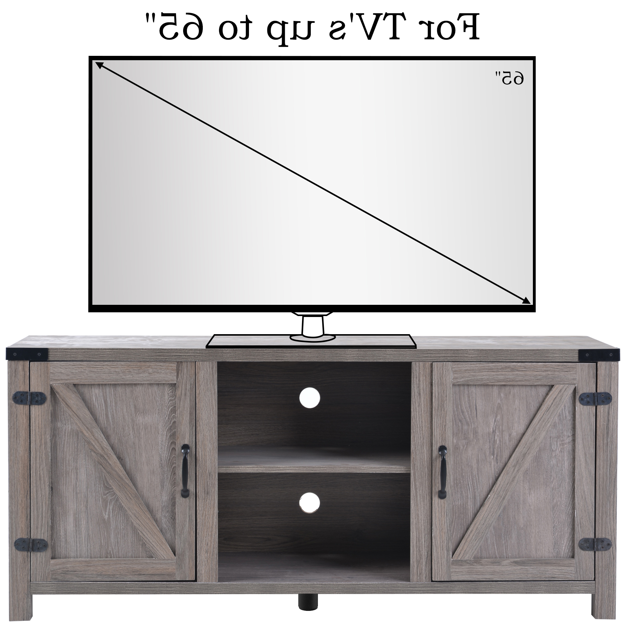 """Well Liked Kamari Tv Stands For Tvs Up To 58"""" Regarding Clearance! Modern Tv Stand Cabinet, Farmhouse Tv Stand For (View 19 of 25)"""