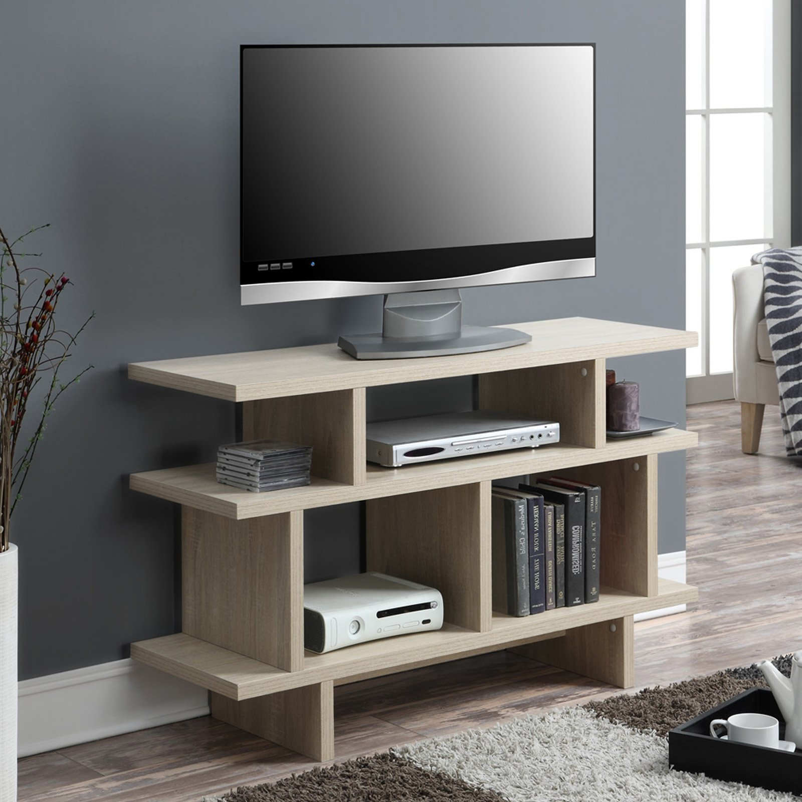 """Well Liked Mainstays Tv Stands For Tvs With Multiple Colors Pertaining To Convenience Concepts Key West 48"""" Tv Stand Console (View 7 of 10)"""