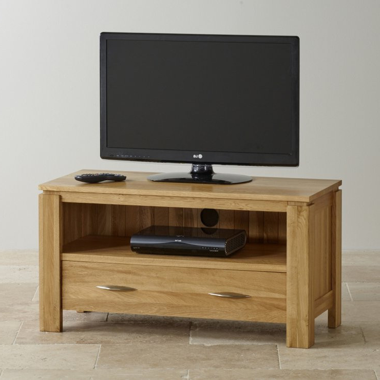 Well Liked Manhattan Compact Tv Unit Stands Regarding Osaka Small Tv Unit » Woods Furniture (View 10 of 10)