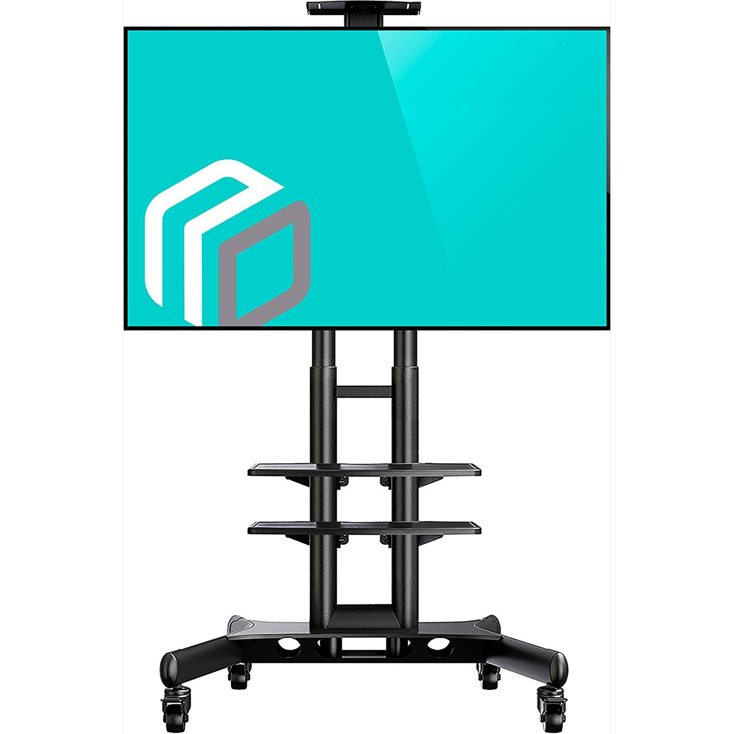 """Well Liked Onkron Mobile Tv Stand Tv Cart With Wheels For 32"""" – 65 Intended For Olinda Tv Stands For Tvs Up To 65"""" (View 25 of 25)"""