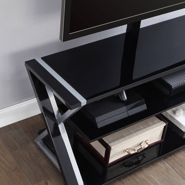 """Whalen Xavier 3 In 1 Tv Stand For Tvs Up To 70"""", With 3 Within Favorite Whalen Payton 3 In 1 Flat Panel Tv Stands With Multiple Finishes (View 2 of 10)"""