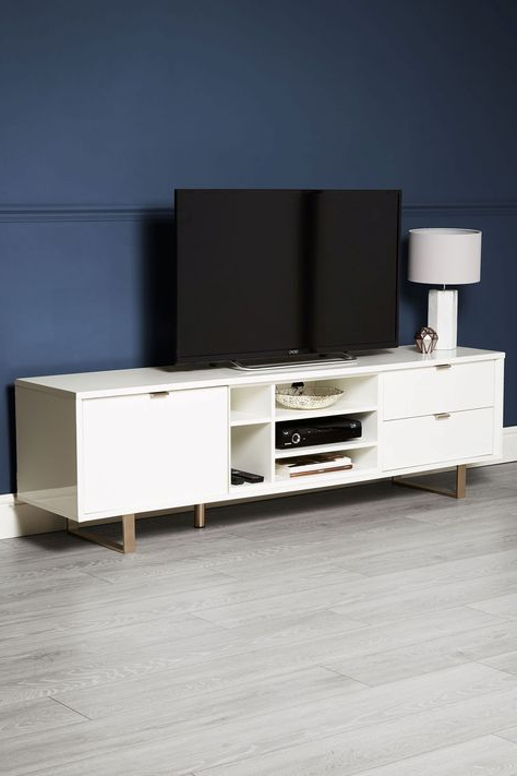 White Tv Stands, White Tv Unit (View 5 of 10)