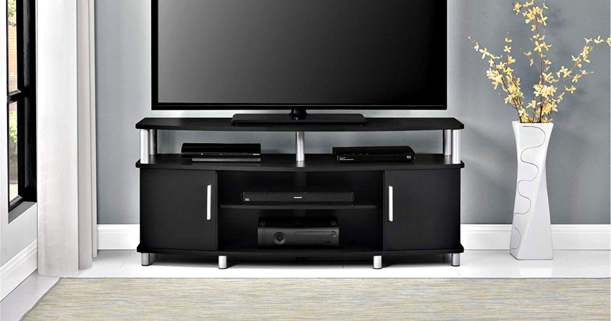 Widely Used Carson Tv Stand & Entertainment Center Only $ (View 4 of 10)