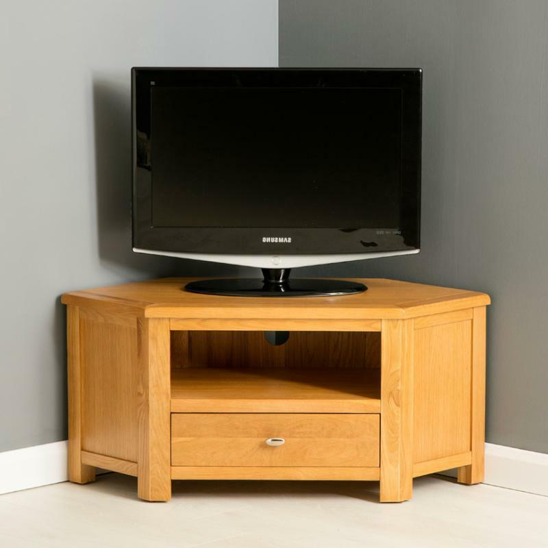 Widely Used Design 20 Of Small Wooden Corner Tv Cabinets Within Samira Corner Tv Unit Stands (View 2 of 10)