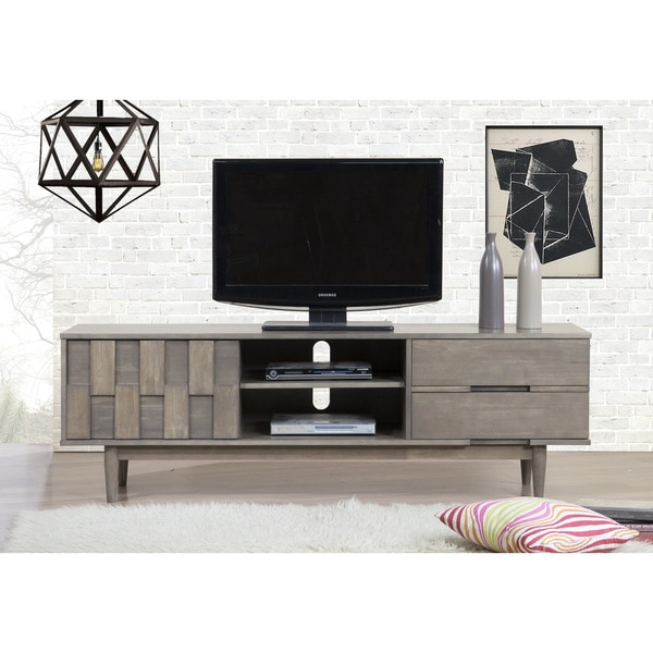 Widely Used Grey Tessuto 70 Inch Entertainment Center – 80008435 Pertaining To Casablanca Tv Stands (View 2 of 10)