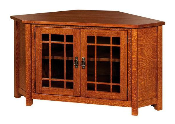 Widely Used Lancaster Corner Tv Cabinet From Dutchcrafters Amish Furniture Pertaining To Lancaster Small Tv Stands (View 8 of 10)