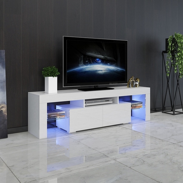 """Widely Used Modern Minimalist Tv Cabinet Living Room With High Gloss With Regard To Bari 160 Wall Mounted Floating 63"""" Tv Stands (View 1 of 10)"""