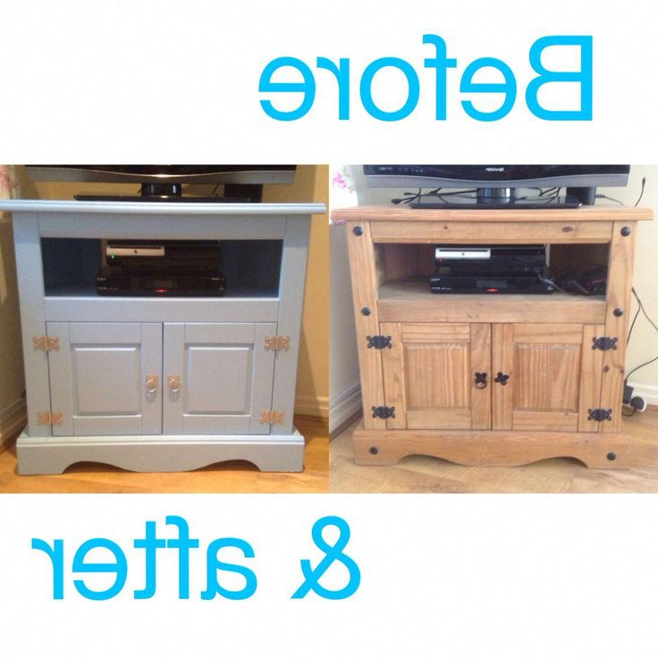 Widely Used Painted Mexican Pine Tv Unit (View 9 of 10)