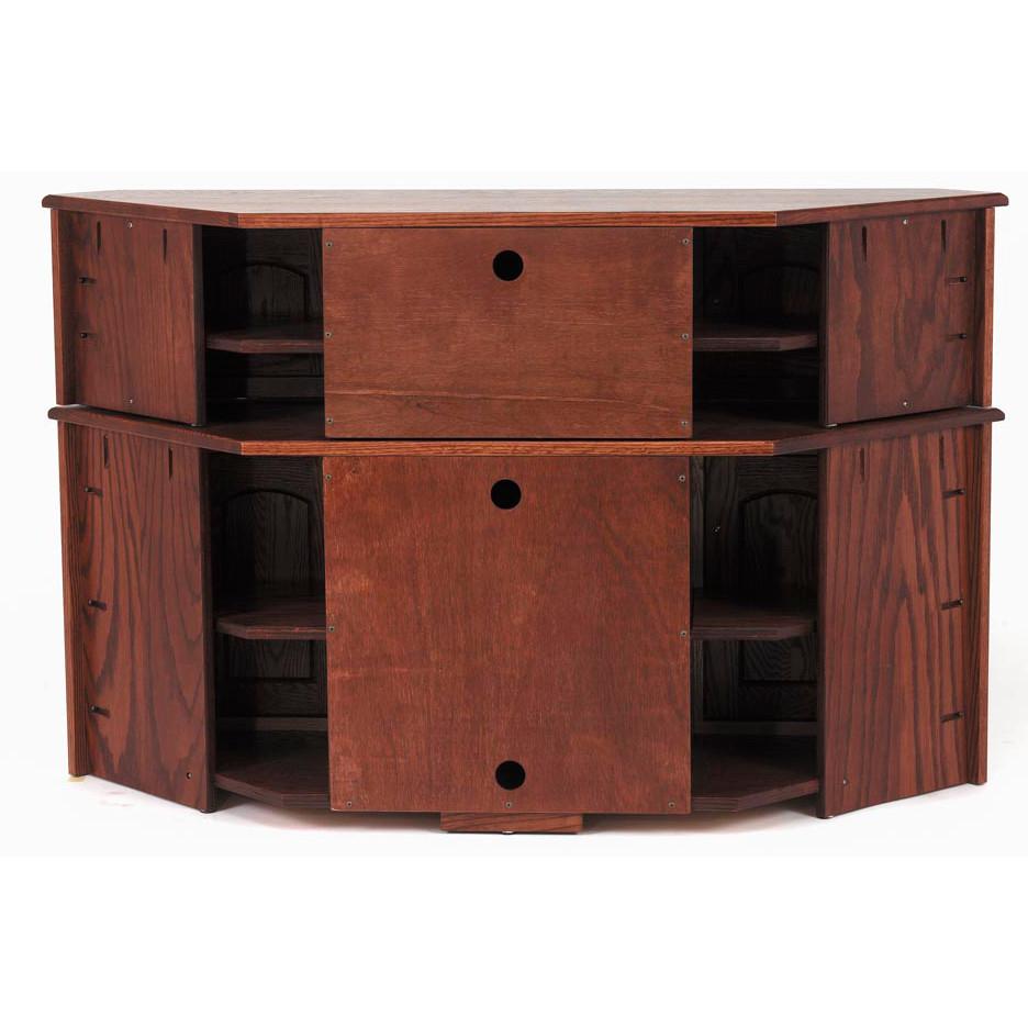 "Widely Used Solid Oak Mission Corner Tv Stand Hi Boy – 55"" – The Oak Regarding Astoria Oak Tv Stands (View 9 of 10)"