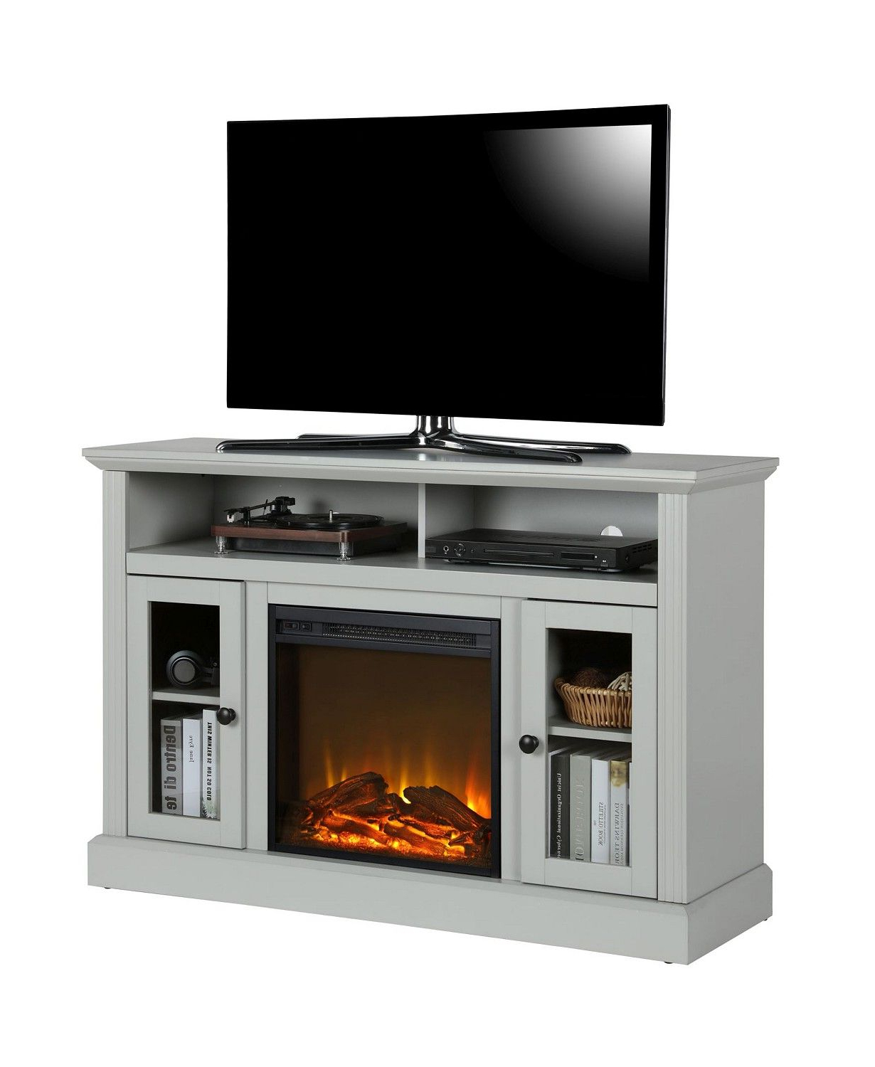 """Widely Used Virginia Tv Stands For Tvs Up To 50"""" Regarding Ameriwood Home Tacoma Electric Fireplace Tv Console For (View 19 of 25)"""