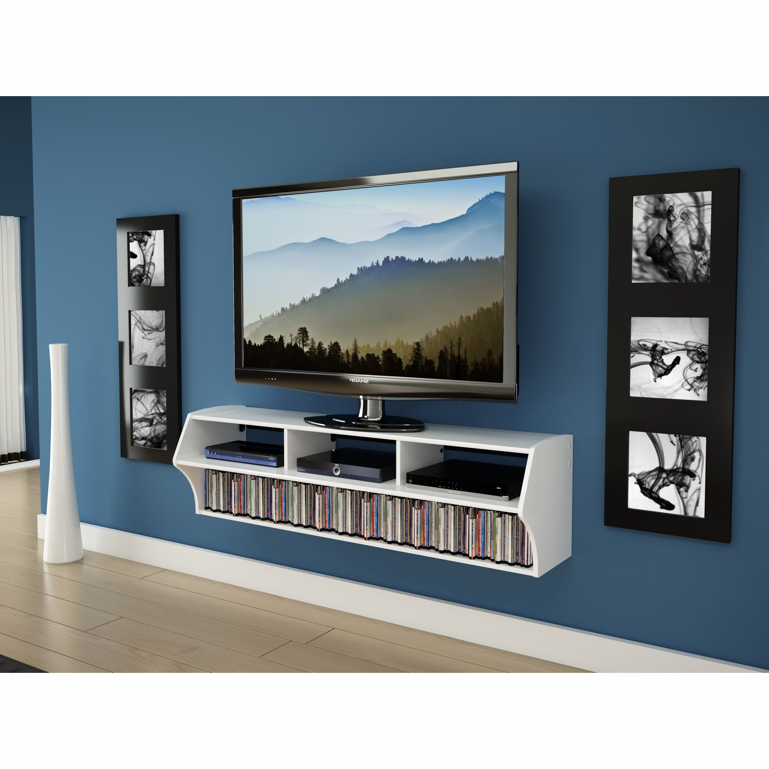 """Winston Porter Carder Floating Tv Stand For Tvs Up To 65 In Most Recently Released Aaliyah Floating Tv Stands For Tvs Up To 50"""" (View 6 of 25)"""