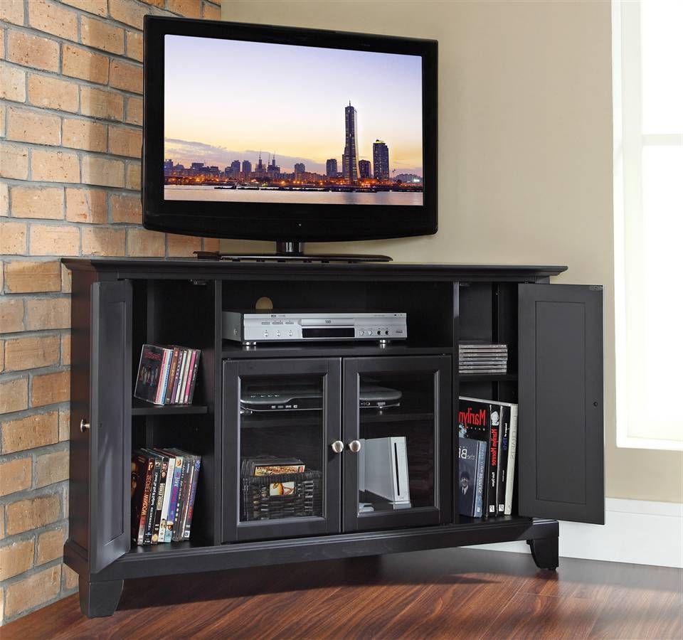 Wood Corner Tv Stand (View 8 of 10)