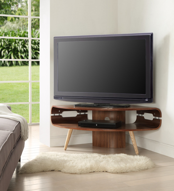 Woven Paths Transitional Corner Tv Stands With Multiple Finishes Pertaining To Famous Bedroom Corner Tv Cabinet – Woven Paths Modern Farmhouse (View 4 of 10)