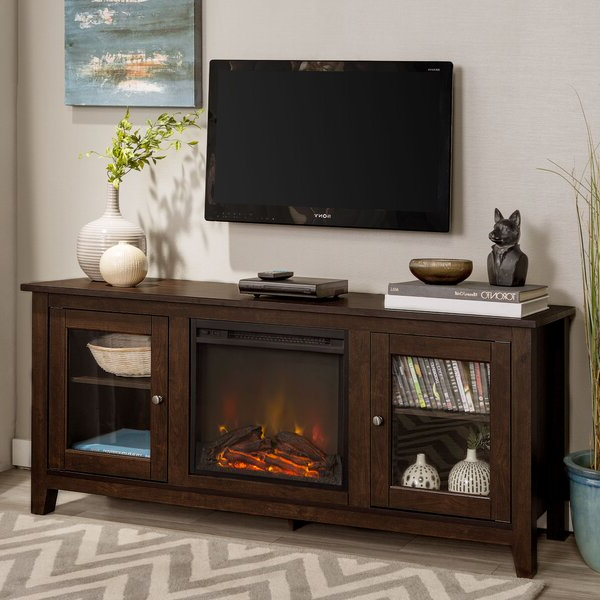 """Zipcode Design™ Kohn Tv Stand For Tvs Up To 65"""" With Regarding 2017 Lansing Tv Stands For Tvs Up To 50"""" (View 13 of 25)"""