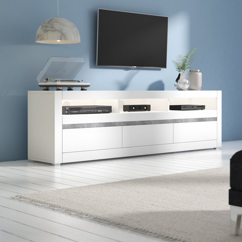 """Zipcode Design Luann Tv Stand For Tvs Up To 88"""" & Reviews Throughout Trendy Ailiana Tv Stands For Tvs Up To 88"""" (View 8 of 25)"""