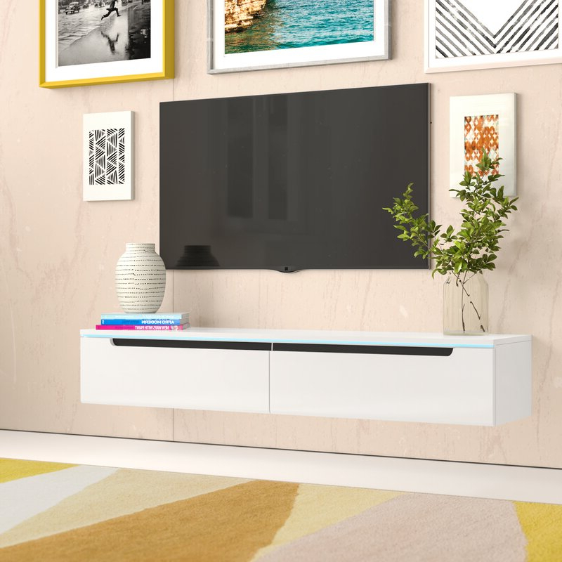 """Zipcode Design Ora Tv Stand For Tvs Up To 65"""" (View 25 of 25)"""