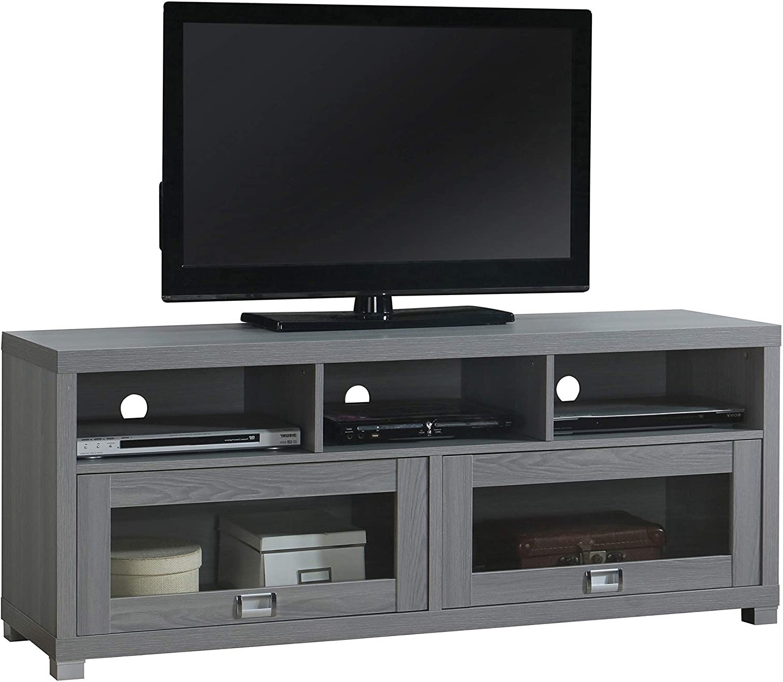 Techni Mobili Durbin Tv Stands Grey (View 2 of 7)