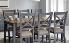 Extendable Dining Tables with 6 Chairs