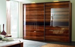Dark Wood Wardrobes With Sliding Doors