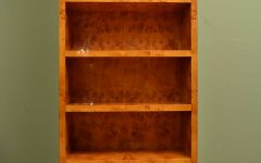 Maple Bookcases