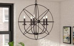 Waldron 5-light Globe Chandeliers