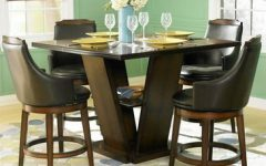Charterville Counter Height Pedestal Dining Tables